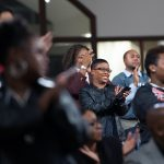 People clap during a town hall meeting sponsored by Georgia Charter Schools Association and GeorgiaCAN at Ebenezer Baptist Church on Friday, Jan. 13, 2017, in Atlanta. (Branden Camp/AP Images for Georgia Charter Schools Association)